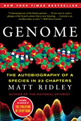 Genome: The Autobiography of a Species in 23 Chapters Kindle Edition