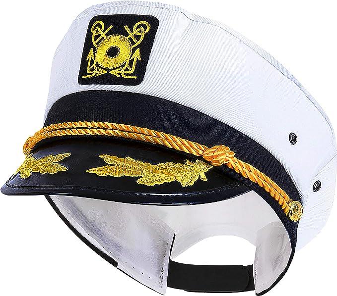 Yacht Captain's Hat