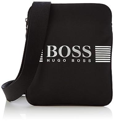 237493ff1c Amazon.com: BOSS Pixel_s Zip Env, Men's Shoulder Bag, Black, 1x23 ...