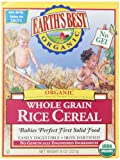 Amazon Price History for:Earth's Best Organic, Whole Grain Rice Cereal, 8 Ounce (Pack of 12)