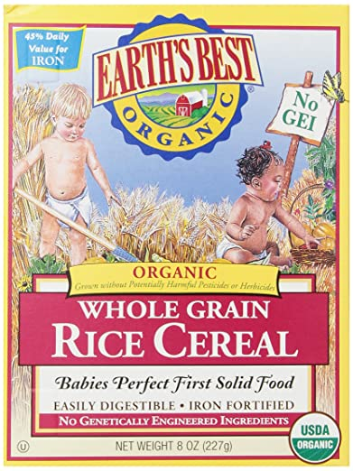 Earth's Best Organic, Whole Grain Rice Cereal Review
