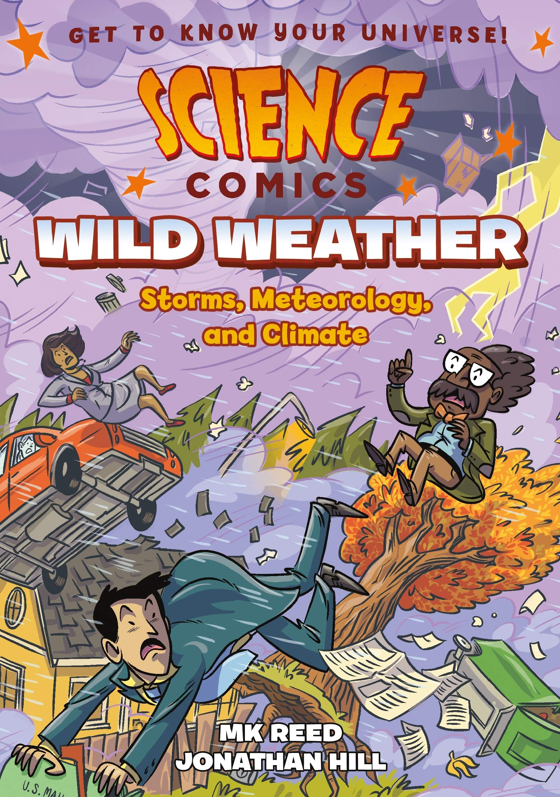 Science Comics: Wild Weather: Storms, Meteorology, and Climate: Reed, MK,  Hill, Jonathan: 9781626727892: Amazon.com: Books
