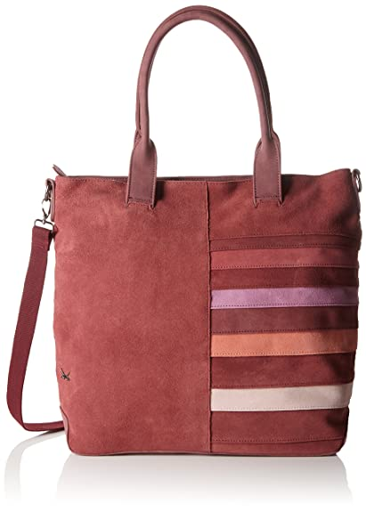 Cm Womens Sansibar Tamaño Shopper Red 43x37x15 XAwZaB
