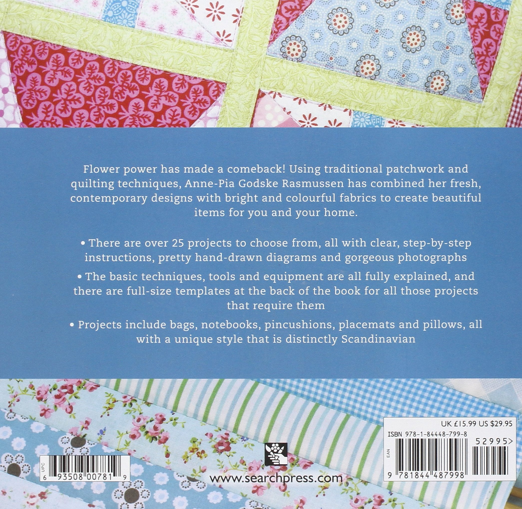 Flower Power Patchwork: Anne-Pia Godske Rasmussen: 9781844487998 ...
