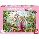 Schmidt Spiele Beautiful Fairy in The Magical Wood Puzzle (200 Piece)