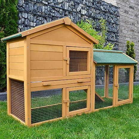 Establo NR 1 Conejos Establo conejeras jaula para conejos Conejo ...