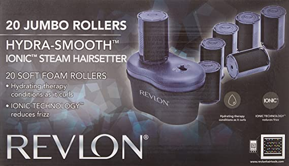 revlon hydra smooth ionic steam setter reviews