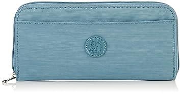 Kipling Travel Doc, Cartera para Mujer, Azul (Dazz Soft Aloe) 15x24x45 centímetros