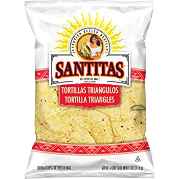 Santitas White Corn Tortilla Chips