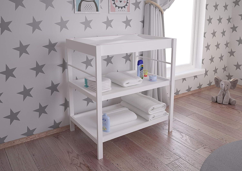 Polini Kids Vestidor cambiador blanco para bebé 3049-04