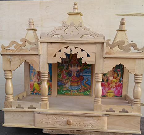 Buy Tip Top Wooden Temple Wooden Mandir Pooja Ghar Mandir