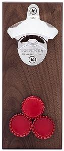 DropCatch Magnetic Bottle Opener and Cap Catcher (Porter - 40 Caps)