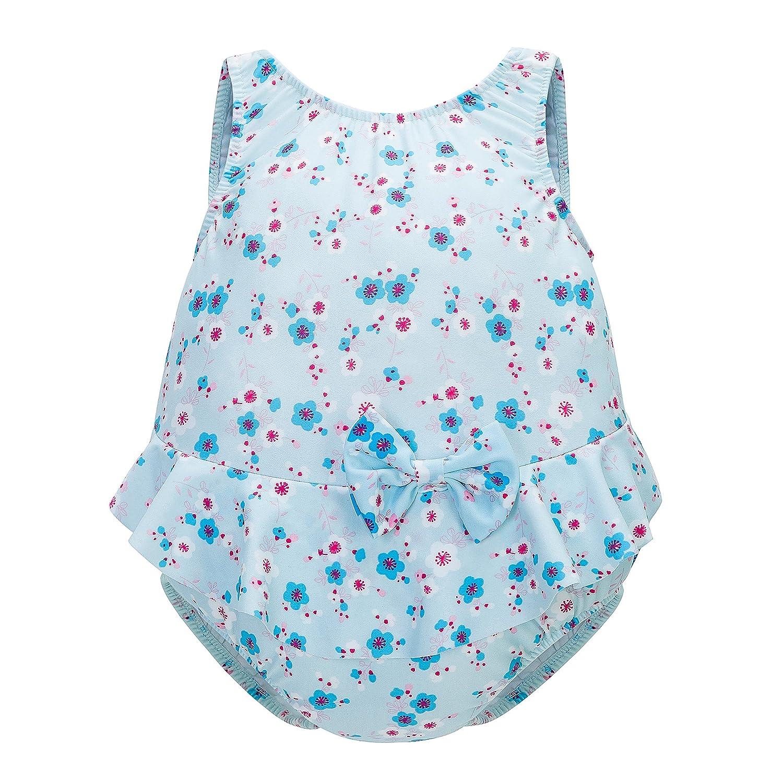 Skhls Baby Girls One-Piece Swimwear Flouncing Swimsuit Beachwear