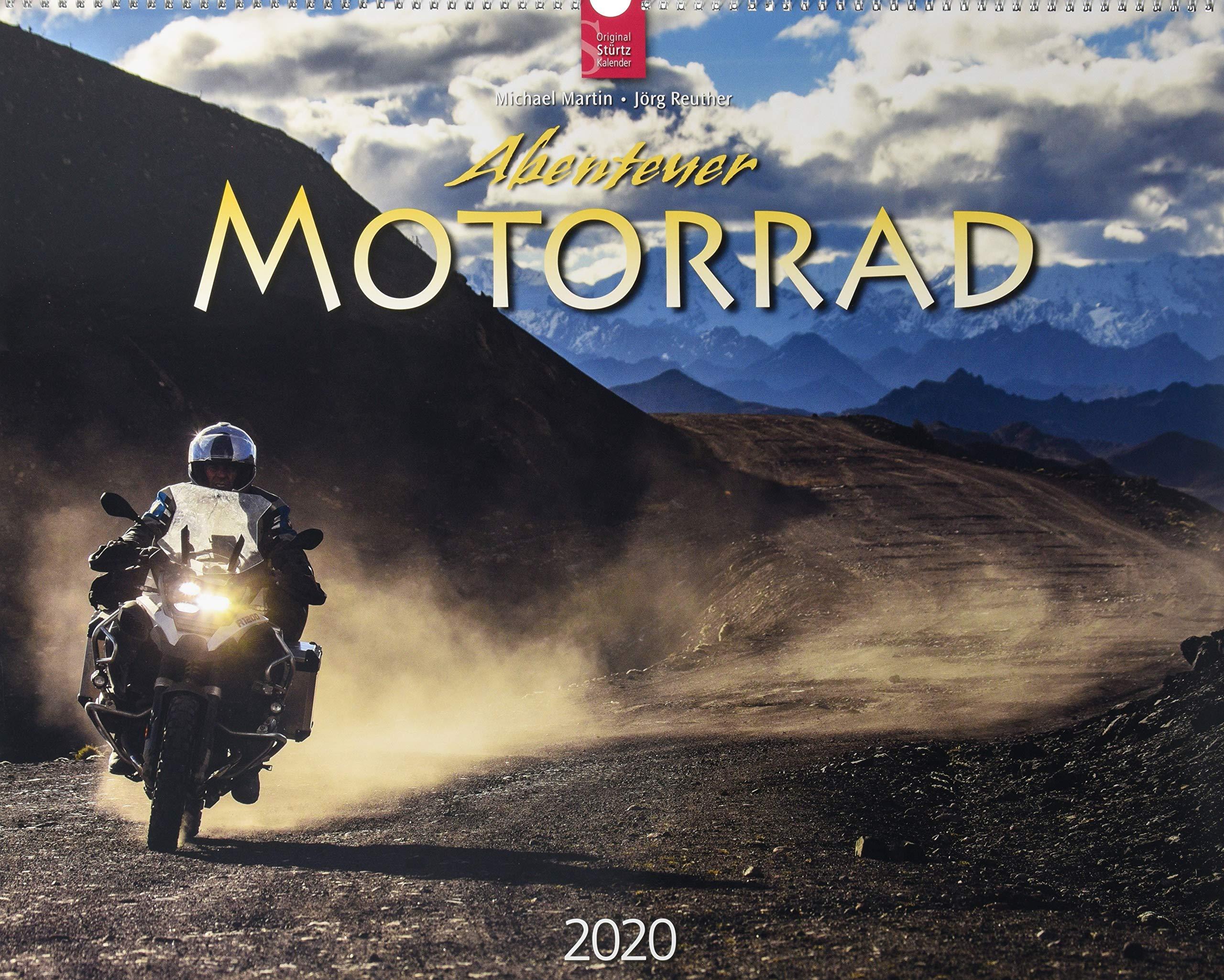 Abenteuer Motorrad  Original Stürtz Kalender 2020   Großformat Kalender 60 X 48 Cm