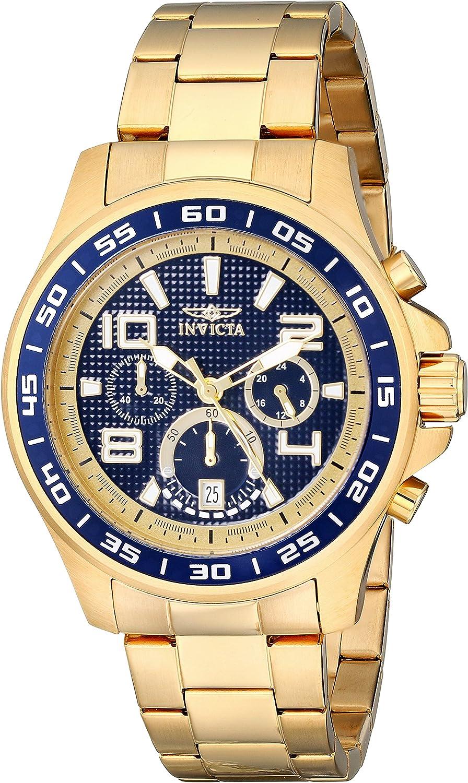 Invicta Men s 14391 Specialty Analog Display Japanese Quartz Gold Watch