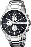 Armani Exchange Ax2152 计时码表不锈钢表男式手表