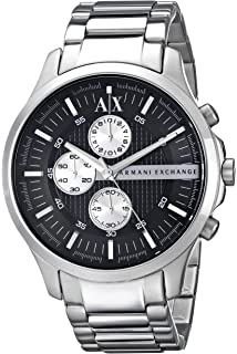 f080ef5a83e Armani Exchange Ax2152 Chronograph Stainless Steel Bracelet Watch Watch For  Men