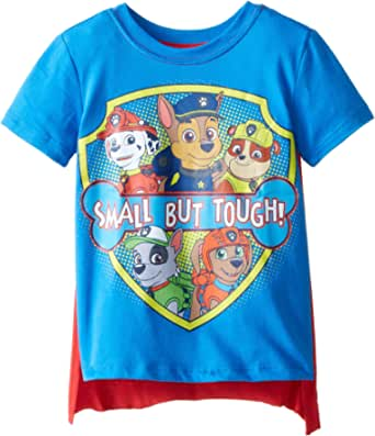 Paw Patrol Boys' Toddler Small But Tough Cape T-Shirt