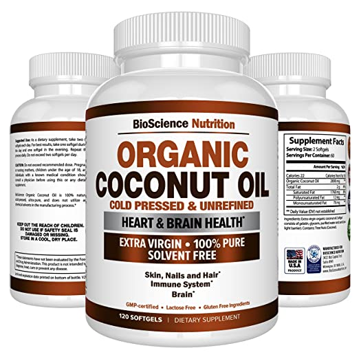 91NdeVXVyKL. SX522  - Healthy Coconut Oil Supplement