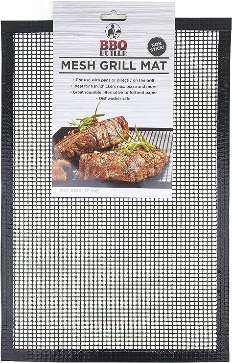 Amazon.com: Utensilios para barbacoa grill Mat – Set de 2 ...