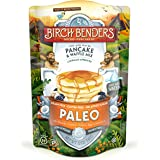 Paleo Pancake & Waffle Mix by Birch Benders, Low-Carb, High Protein, High Fiber, Gluten-free, Low Glycemic, Prebiotic…