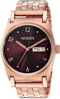 Nixon Womens Jane Quartz Stainless Steel Casual Watch, Color:Rose Gold-