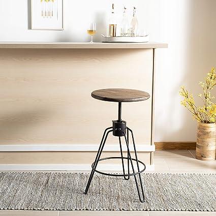 Outstanding Amazon Com Safavieh Bst3700A Kai Counter Stool Natural Machost Co Dining Chair Design Ideas Machostcouk