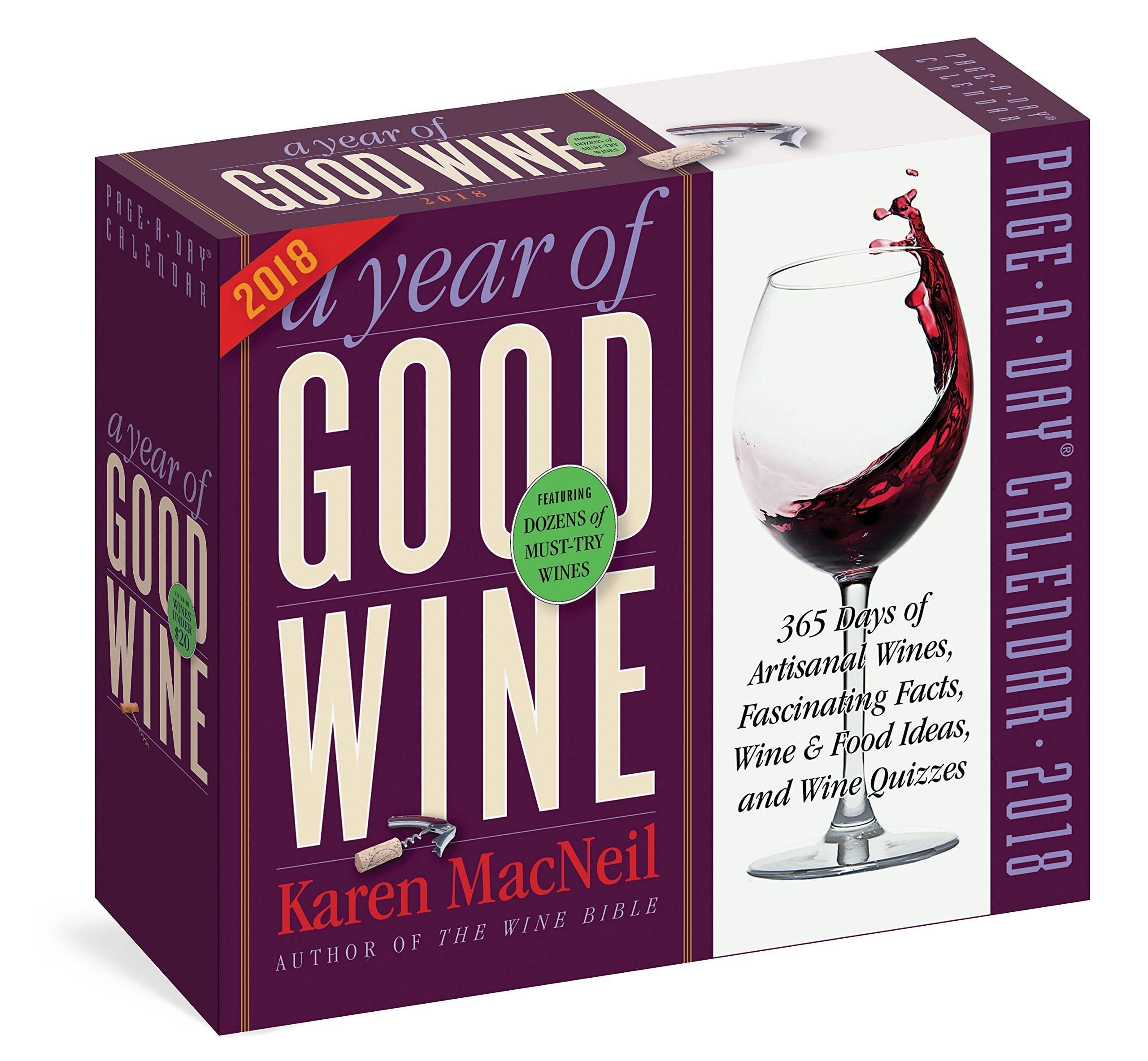 A Year of Good Wine Page-A-Day Calendar 2018: Karen MacNeil: 9781523501113:  Amazon.com: Books