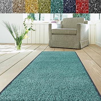 Teppiche für den flur  Teppich Läufer Luxury | moderne Shaggy Optik mit flauschigem ...