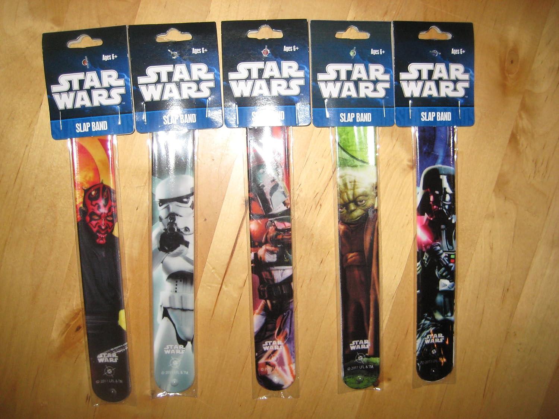 Amazon.com: Star Wars Bofetada Bandas Set 5 piezas (estilos ...