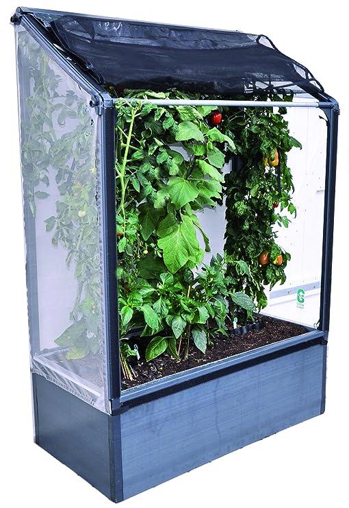 growcamp lean-to cultivador vegetales 4 por 1, 9 m por 30, 48 cm ...