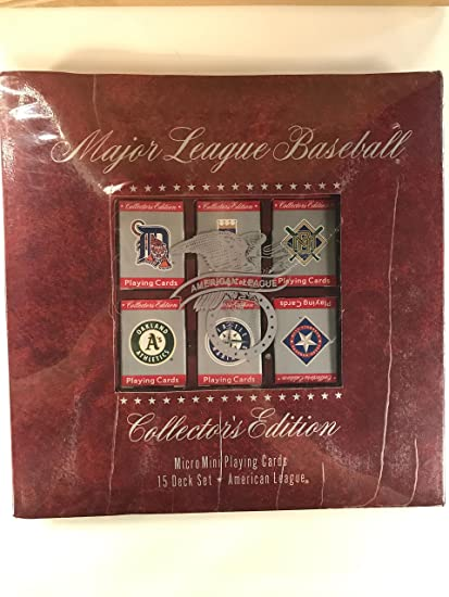 Amazon.com: Major League Baseball micromini Juego de cartas ...