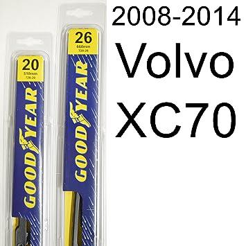 "Volvo XC70 (2008 – 2014) limpiaparabrisas Kit – Set incluye 26 ""("