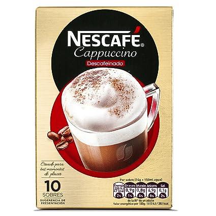 NESCAFÉ Café Cappuccino Descafeinado | Caja de sobres