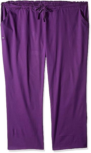 91cc41a81d18c Cherokee Women s Plus-Size Low-Rise Drawstring Pant  Amazon.ca  Clothing    Accessories