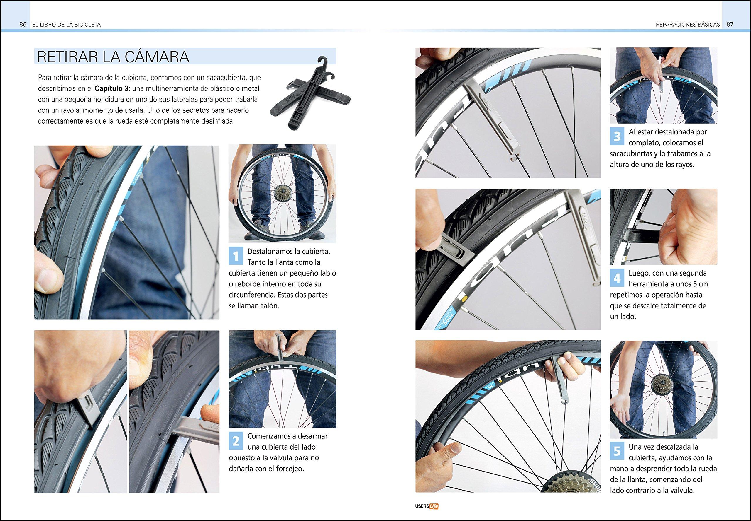 El libro de la Bicicleta - Uso, mantenimiento y reparación (Spanish Edition): Diego Maldonado, USERS, USERS Life: 9789877340617: Amazon.com: Books