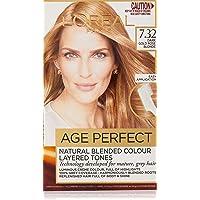 L'Oréal Paris Excellence Age Perfect Permanent Hair Colour - 7.32 Dark Gold Rose Blonde (Natural Blended Colour)