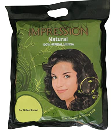 Amazon Com 100 Pure Natural Herbal Henna Powder By Impression