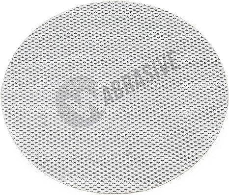 K400 K150 5x150er 50 Stck Schleifpapier Scheiben150mm Durchmesser K/örnung K80 IHS/® KLETT Gitterleinen Schleifscheiben Schleifgitter Set 5 10 25 od