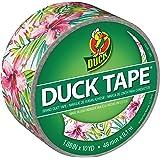 "Duck Brand 284631 Single Roll Printed Duct Tape, 1.88"" x 10 yd, Tropics"
