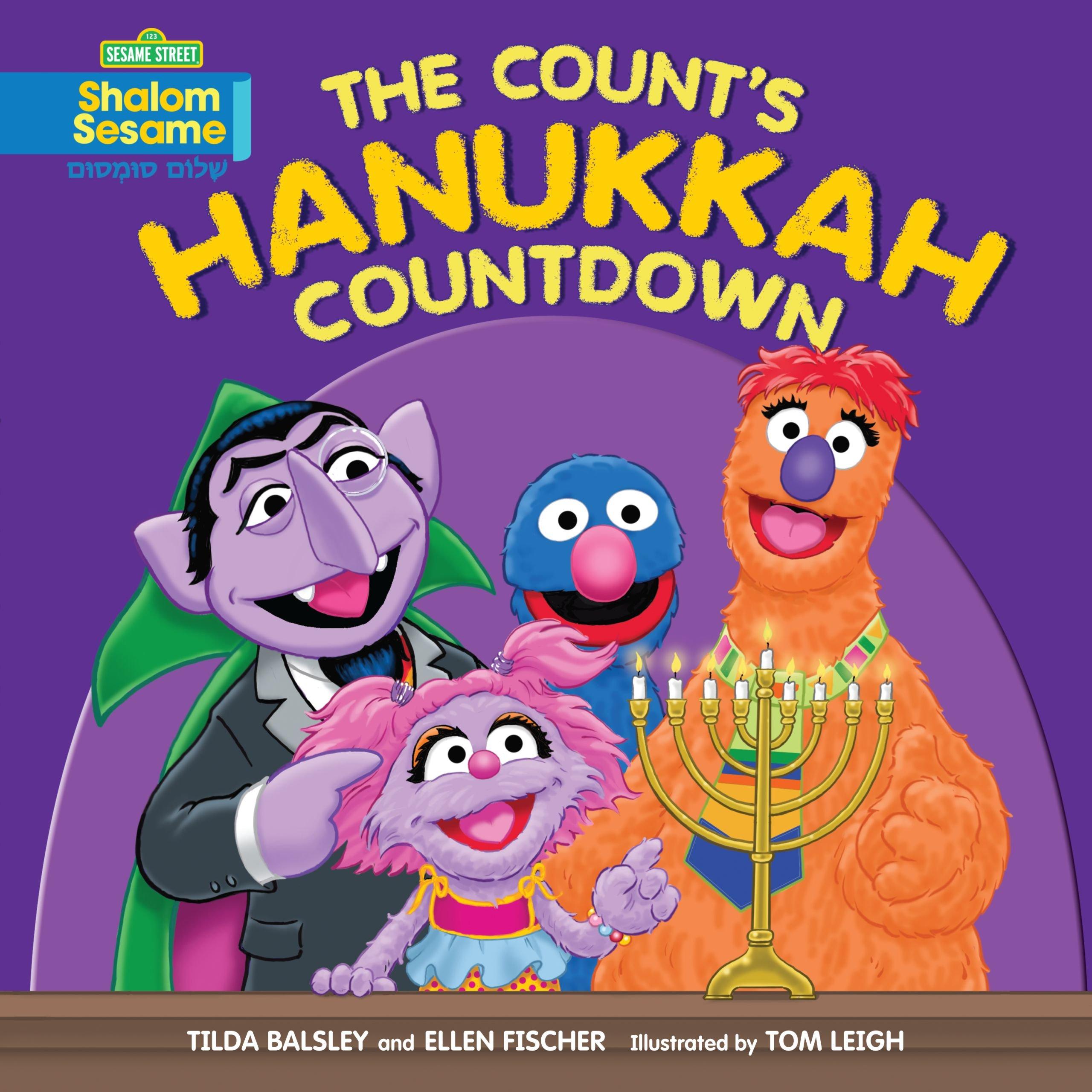 The Count's Hanukkah Countdown (Shalom Sesame)