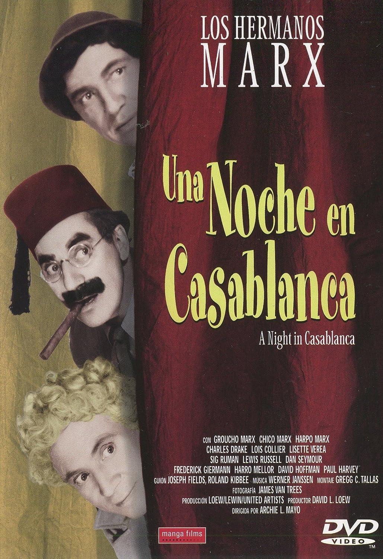 Una noche en Casablanca: Amazon.es: Groucho Marx, Harpo Marx ...