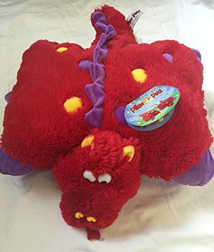 Amazon.com: Pillow Pets – Almohada 18 inch – Fiery Dragon ...