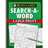 Brain Games - Search-A-Word - Large Print (96 Pages)
