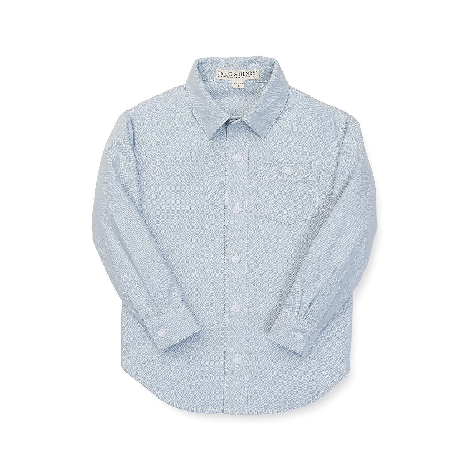 Hope & Henry Boys' Oxford Top Made with Organic Cotton