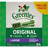 Greenies Original Large Dog Natural Dental Treats (50-100 lb. Dogs)