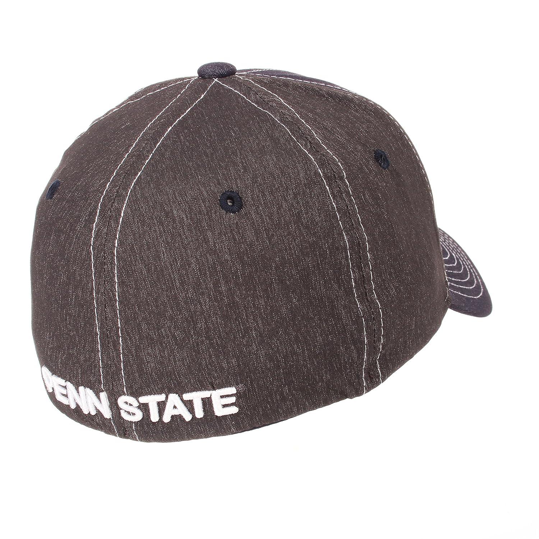 Medium//Large Zephyr Adult Men Dusk NCAA hat Team Color//Dark Grey
