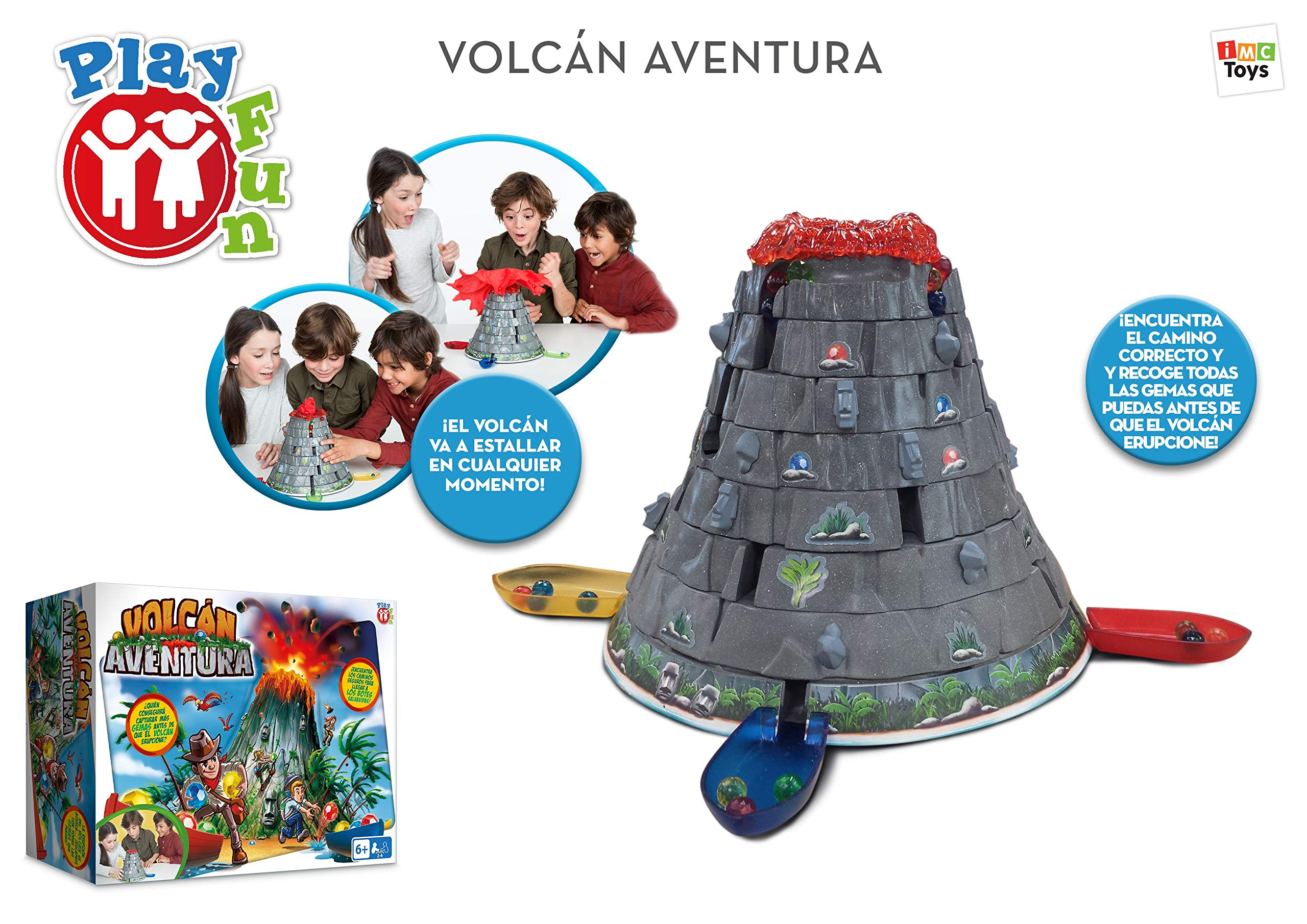 Comprar IMC Toys Escape desde Volcano Play Fun, 96738IMIT (Idioma Español)