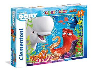Amazon Clementoni Finding Dory Maxi Puzzle 24 Piece Toys
