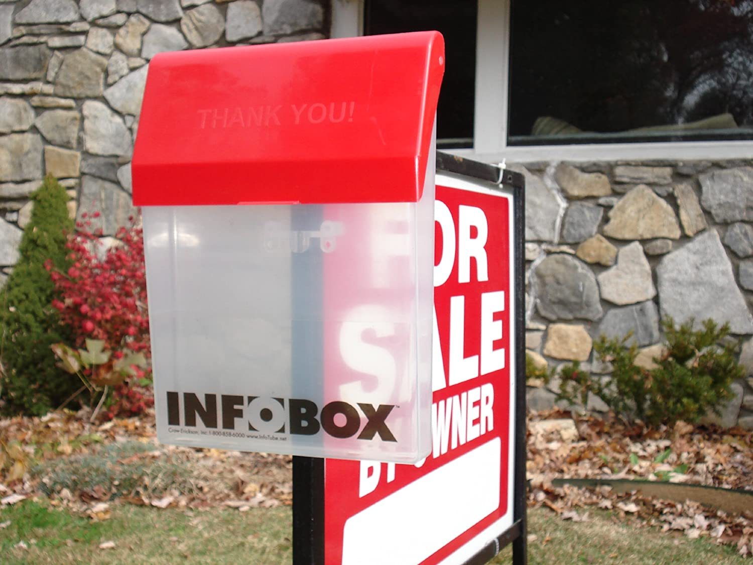 The Infobox Outdoor Document Holder Real Estate Residential Electrical Wiring Diagram 12x24 Brochure Box Office Products